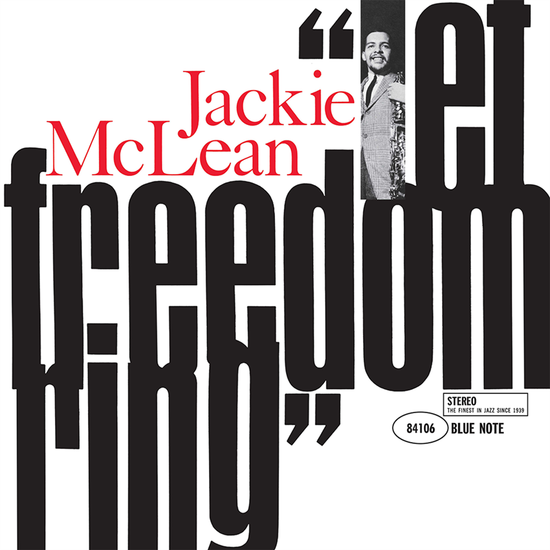 Cover of Jackie McLean's Let Freedom Ring.